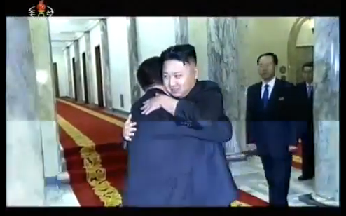 It's all hugs and smiles in Pyongyang, but when will the North Korean leader venture to Beijing?